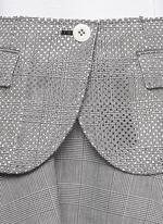 Plaid flare skirt