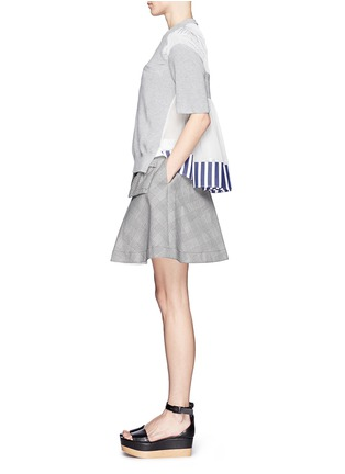 Figure View - Click To Enlarge - Sacai - Plaid flare skirt
