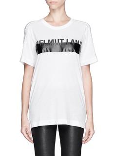 HELMUT LANGLogo T-shirt