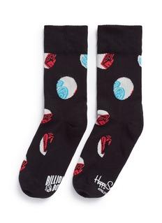Happy Socksx BBC Diamond athletic socks