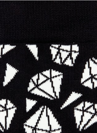 Detail View - Click To Enlarge - Happy Socks - Diamond socks