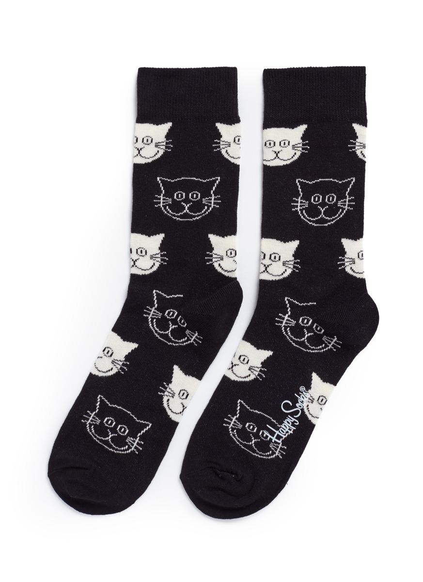 Cat socks by Happy Socks