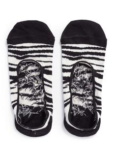 Happy SocksZebra liner socks