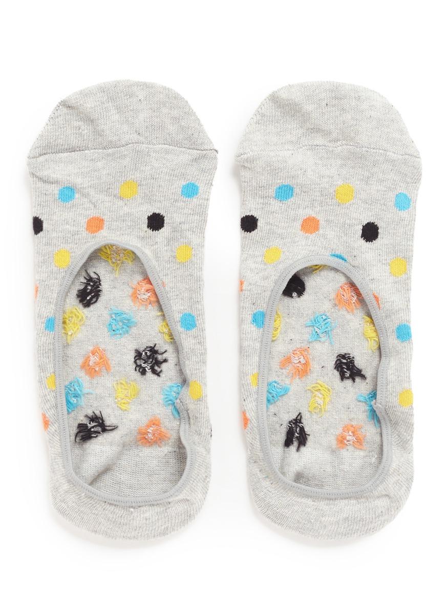 Polka dot liner socks by Happy Socks