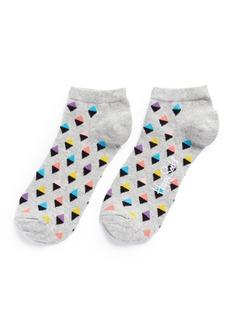 Happy SocksMini diamond low socks