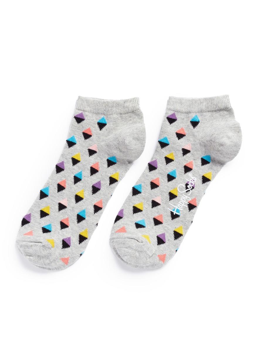 Mini diamond low socks by Happy Socks