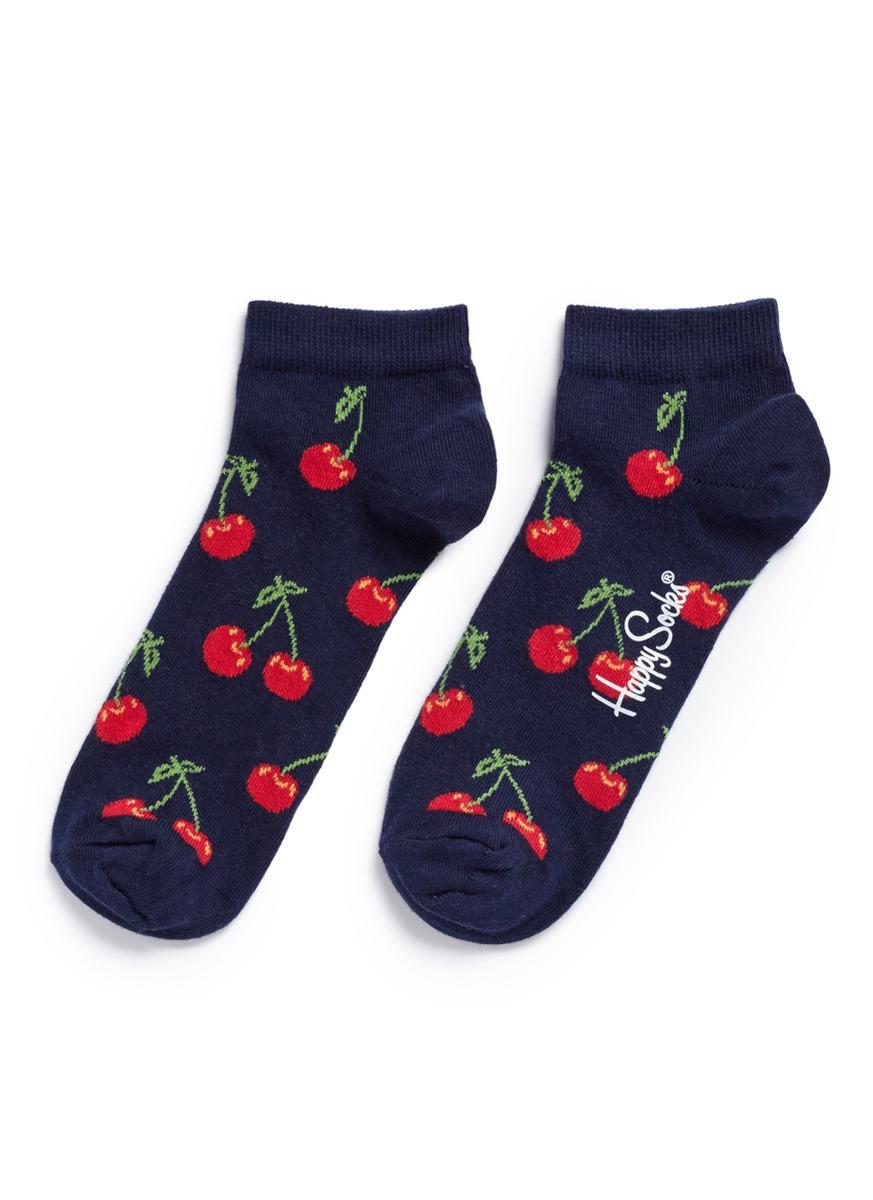Cherry low socks by Happy Socks