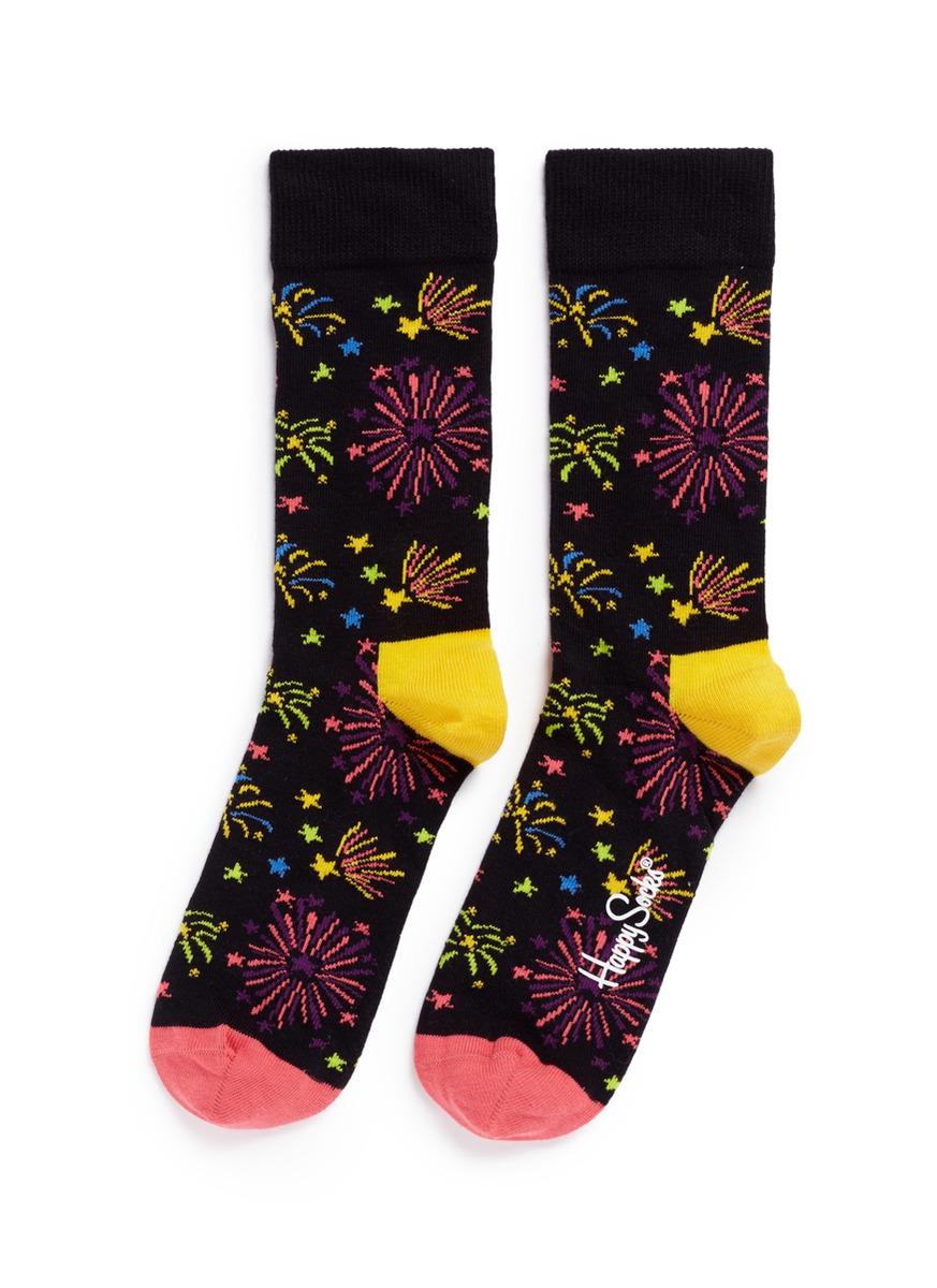 Firework socks by Happy Socks
