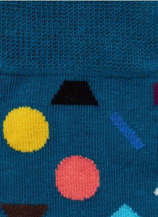 Detail View - Click To Enlarge - Happy Socks - 'Play' geometric socks