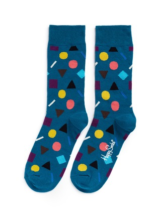 Main View - Click To Enlarge - Happy Socks - 'Play' geometric socks
