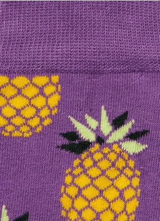 Detail View - Click To Enlarge - Happy Socks - Pineapple socks