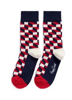 Happy SocksFilled Optic socks