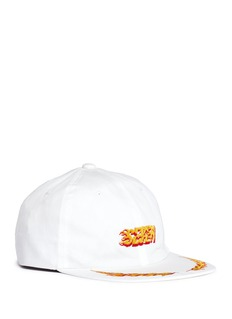 Studio Seven Flame embroidered baseball cap