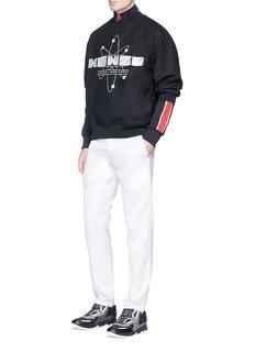 KENZO'Nasa' metallic embroidered sweatshirt