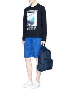 KENZO'Eye x Flyer' logo patch sweatshirt