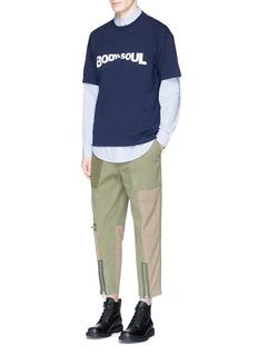 KENZOBODY & SOUL print T-shirt