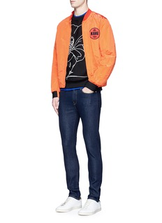 PS by Paul SmithCactus embroidered cotton sweatshirt