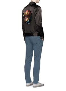 PS by Paul SmithSnake graphic embroidered blouson jacket