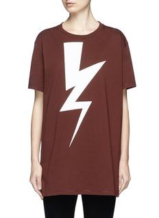 Neil BarrettThunderbolt print T-shirt