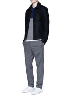 rag & bone 'Camden' colourblock cashmere sweater