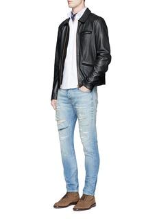 Scotch & Soda'Ralston' slim fit distressed jeans