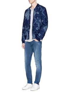 Scotch & Soda'Skim' stone wash skinny jeans