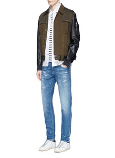 Scotch & Soda 'Tye' distressed slim fit jeans