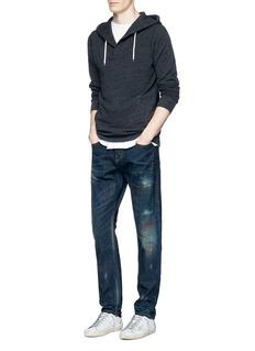 Scotch & Soda'Lot 22 Ralston' paint spot slim fit jeans