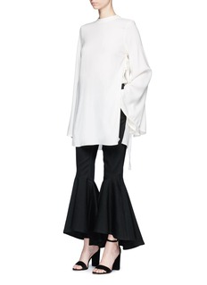 Ellery 'Purify' flared sleeve ruched side top