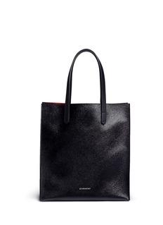 Givenchy'Stargate' medium faux saffiano leather tote