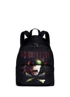 Givenchy'Ip' army skull print backpack