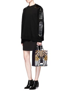 Givenchy'Stargate' small Egyptian print tote