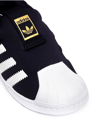 Detail View - Click To Enlarge - Adidas - 'Superstar 360' neoprene slip-on toddler sneakers