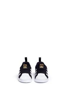 Adidas 'Superstar 360' neoprene slip-on toddler sneakers