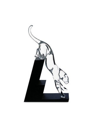 Baccarat - Panthere crystal leaping panther