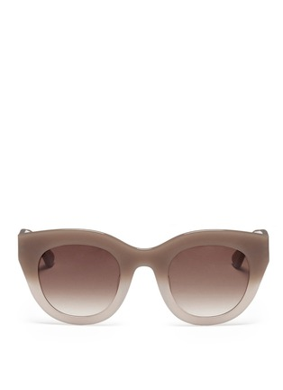 Main View - Click To Enlarge - Thierry Lasry - Deeply ombré plastic cat eye sunglasses