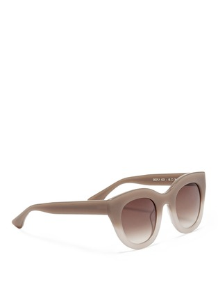 Figure View - Click To Enlarge - Thierry Lasry - Deeply ombré plastic cat eye sunglasses