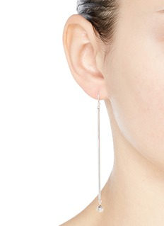 Philippe Audibert 'Brenna XL' linear bar bead drop earrings
