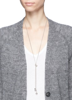 Philippe Audibert 'Bailee' sphere pendant knotted chain necklace
