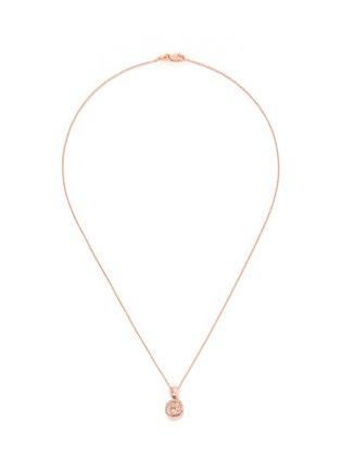 Main View - Click To Enlarge - Khai Khai - 'At @' diamond pendant necklace