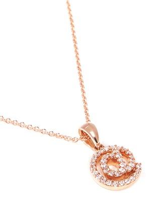 Figure View - Click To Enlarge - Khai Khai - 'At @' diamond pendant necklace