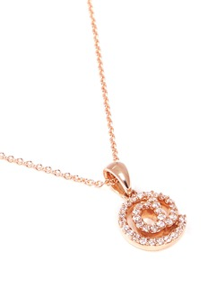 Khai Khai 'At @' diamond pendant necklace