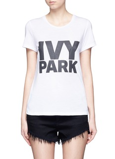 TopshopLogo print T-shirt