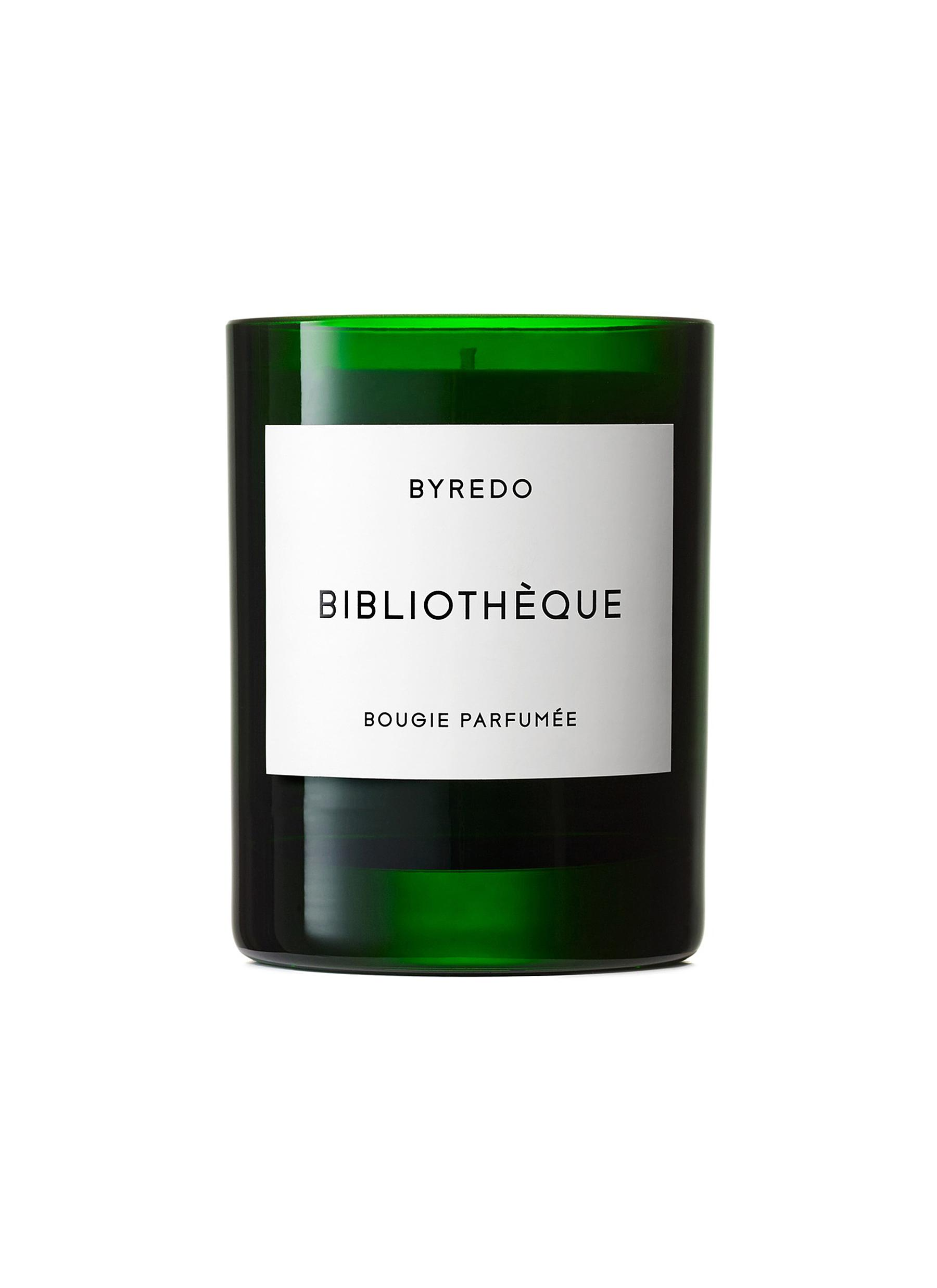 Bibliothéque fragranced 2016 holiday candle 240g by BYREDO
