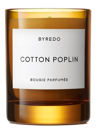 Main View - Click To Enlarge - BYREDO - Cotton Poplin fragranced 2016 holiday candle 240g