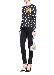 Dolce & Gabbana Lemon embellished skinny jeans