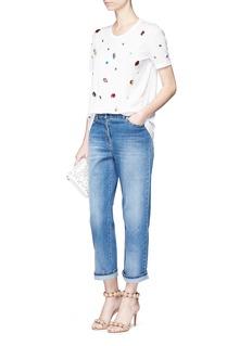 Dolce & GabbanaCrystal embellished jersey T-shirt