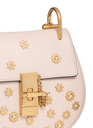 - Chloé - 'Drew' mini Swarovski crystal star embellished shoulder bag