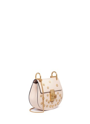 Figure View - Click To Enlarge - Chloé - 'Drew' mini Swarovski crystal star embellished shoulder bag