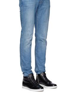 Want Les Essentiels De La Vie'Lennon' mid top leather sneakers